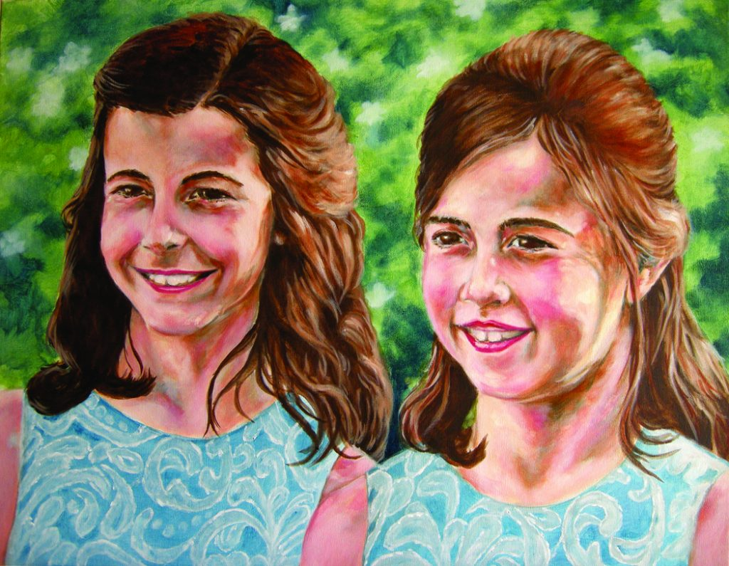 Patrick Raymond portrait girls