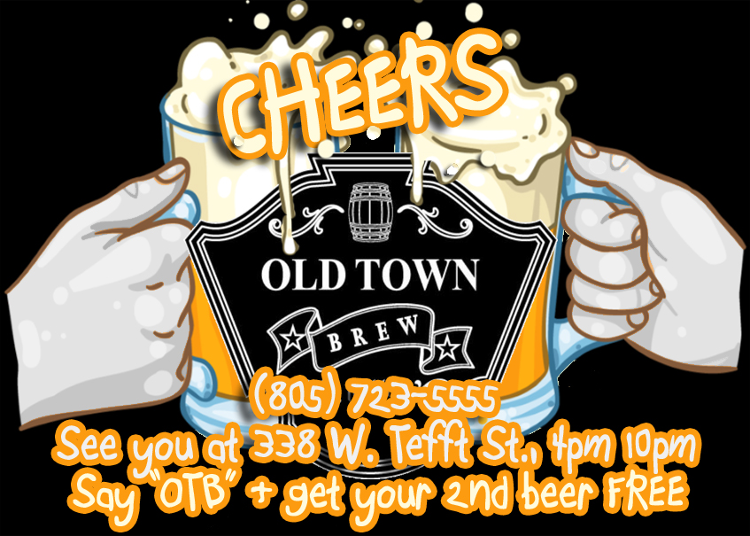 Old Town Brew cheers beers